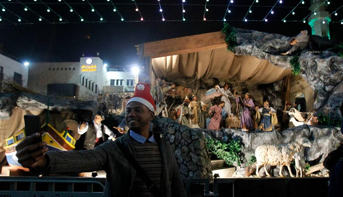 احتفالات في مهد المسيح... أجواء عيد الميلاد في بيت لحم يشوبها التوتر