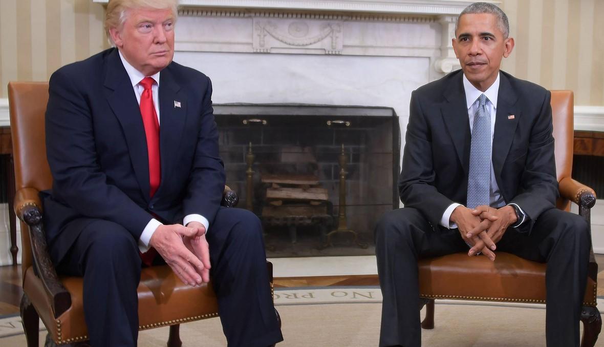 ترامب انتقد أوباما حول التظاهرات الإيرانيّة.. فهل تصرّف أفضل منه؟