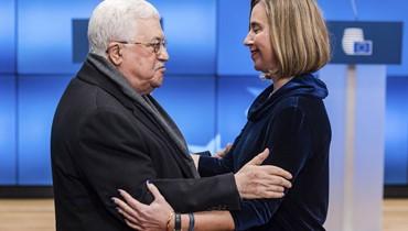 الإتحاد الأوروبي يحتضن عباس ردّاً على قرار ترامب