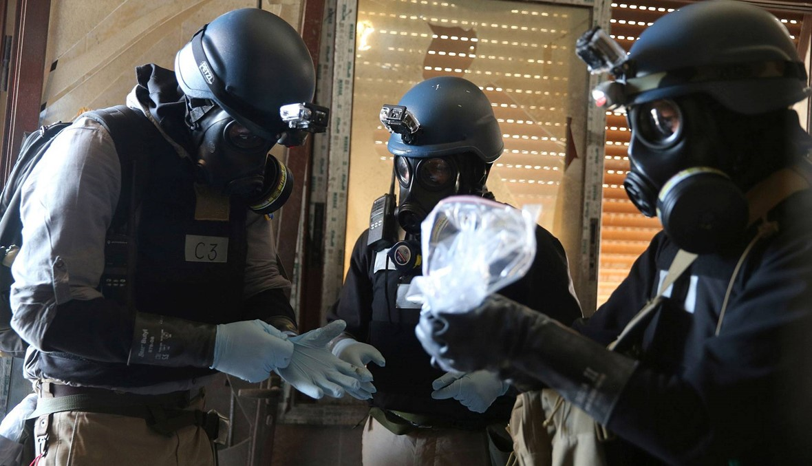 فرنسا: قلقون من تحايل سوريا على حظر الأسلحة الكيميائية