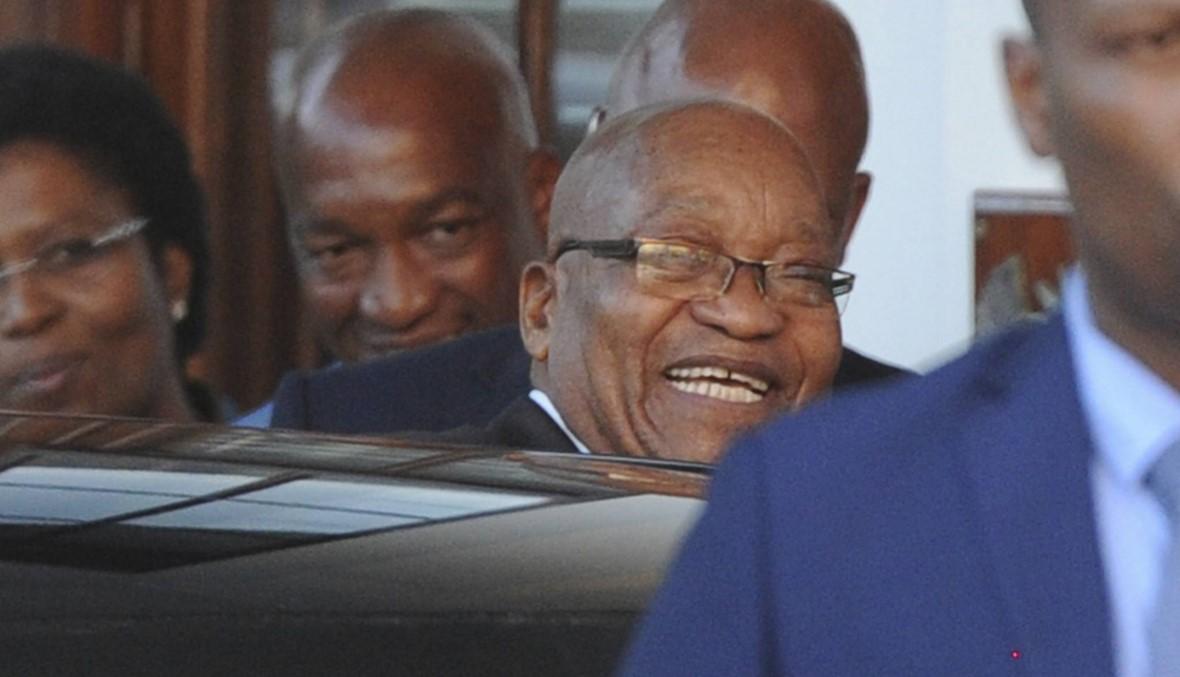 جنوب افريقيا: غموض حول مصير زوما...  المعارضة تطلب التعجيل في رحيله
