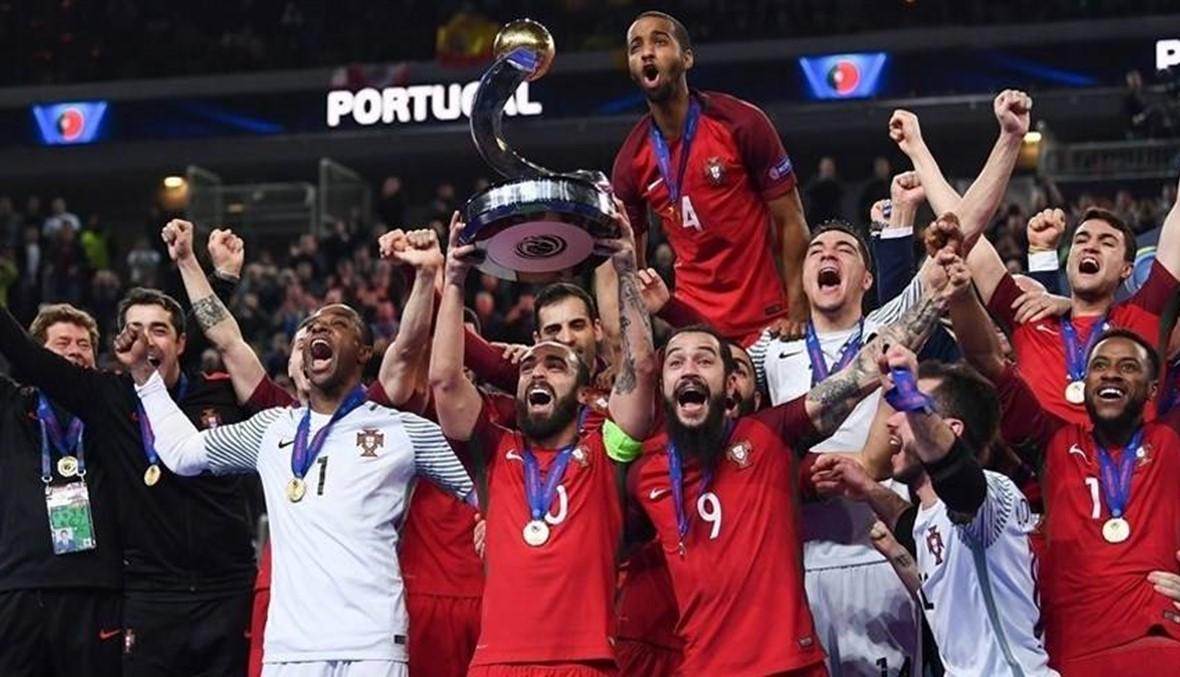 """البرتغال تنهي هيمنة إسبانيا على """"فوتسال"""" أوروبا"""