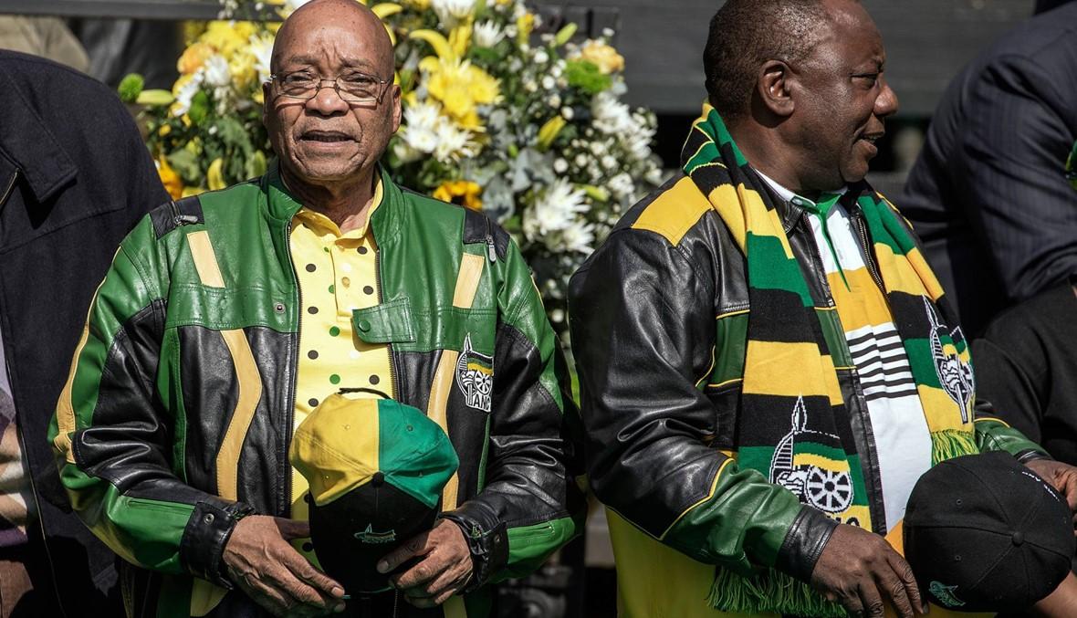 """جنوب إفريقيا: الحزب الحاكم يطلب من زوما """"الرحيل""""... الرئيس يردّ الاربعاء"""