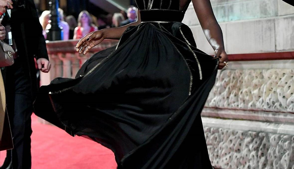 Lupita Nyong'o تتألق بفستان من تصميم ايلي صعب في  BAFTAS