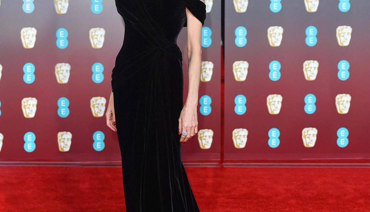 أنجيلينا جولي تتألّق بفستان من تصميم Ralph & Russo في BAFTA
