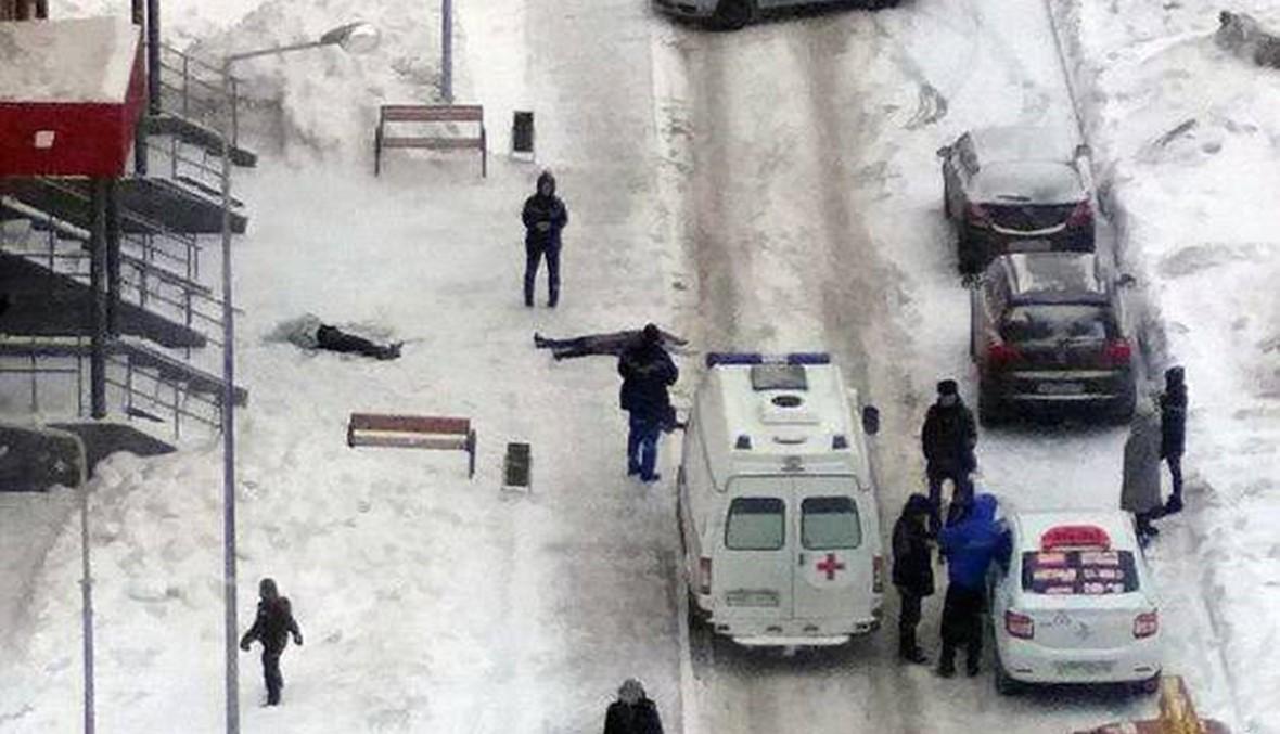 """شقيقتان قفزتا من على سطح المبنى... المأساة مرتبطة بـ""""لعبة انتحار الحوت الأزرق""""؟"""