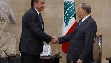 عون عرض أوضاع الصناعيين ومهجري الكرنتينا وجدّد دعوة نظيره البرازيلي إلى زيارة لبنان