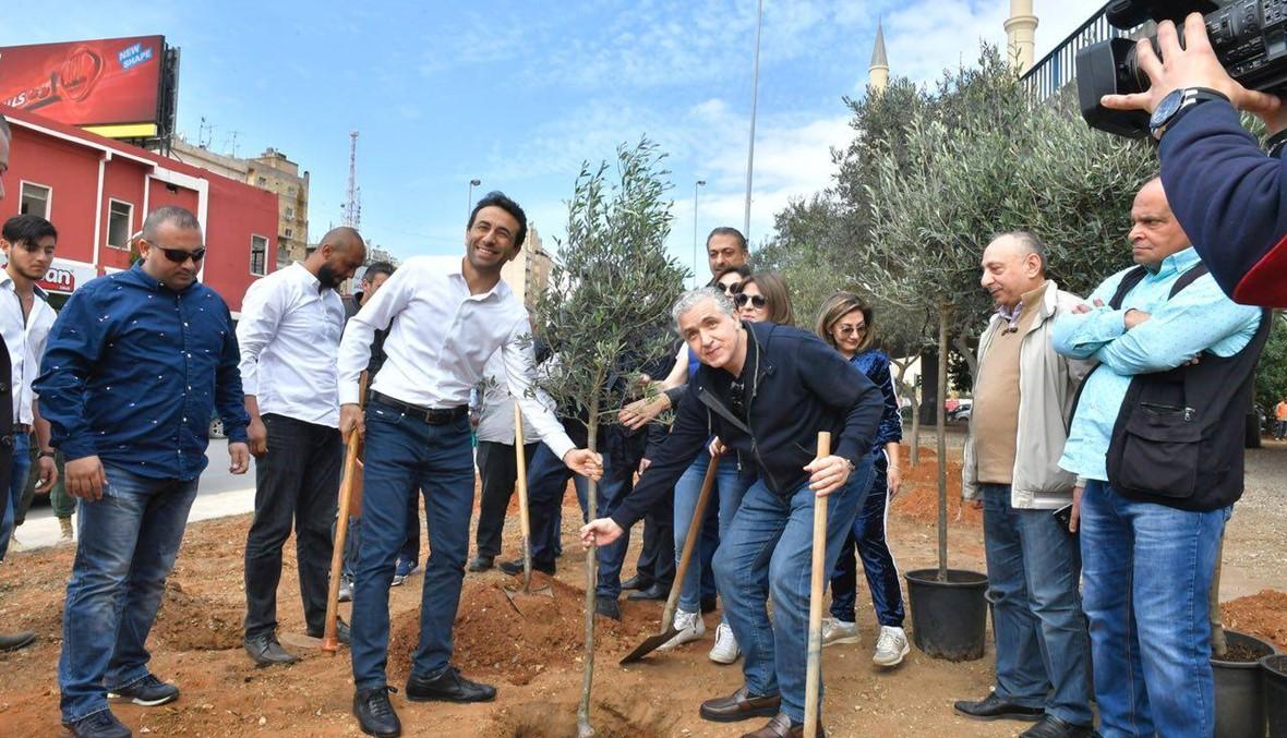 شبيب من الكولا: زرع 10452 شجرة في بيروت سيغيّر جذرياً مشهدها العام