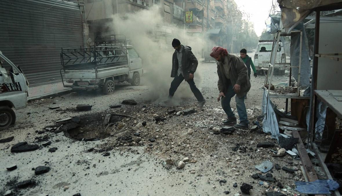 الغوطة 3 جيوب معزولة وواشنطن تحذّر من الغاز