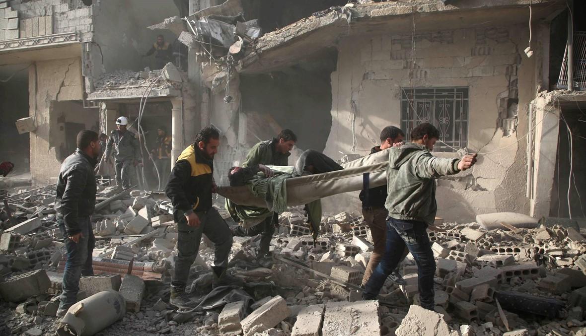 الجيش الروسي: قمنا بإجلاء 52 مدنياً من الغوطة الشرقية