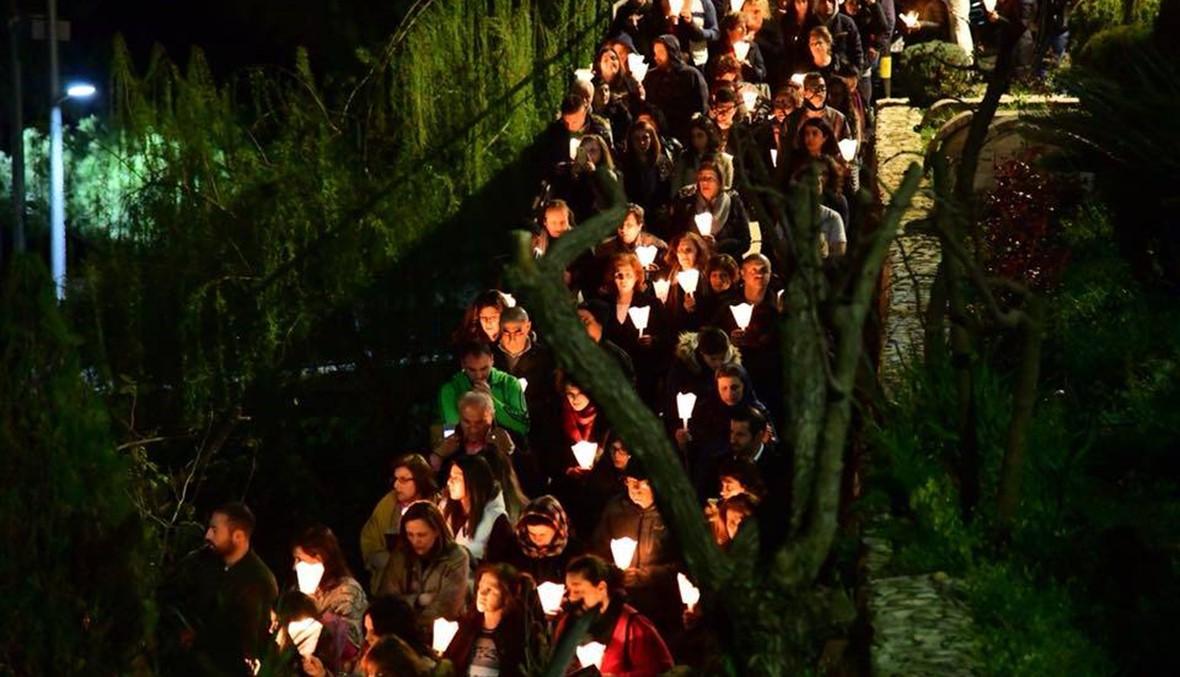بركات القديسة رفقا في عيدها... والقديس شربل مسيرة الآلاف