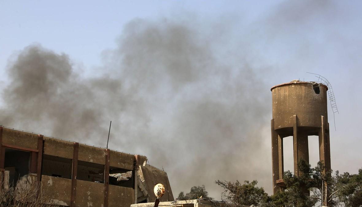 """الجيش الروسي ينفي استخدام قنابل حارقة في الغوطة: """"أكاذيب شائنة"""""""