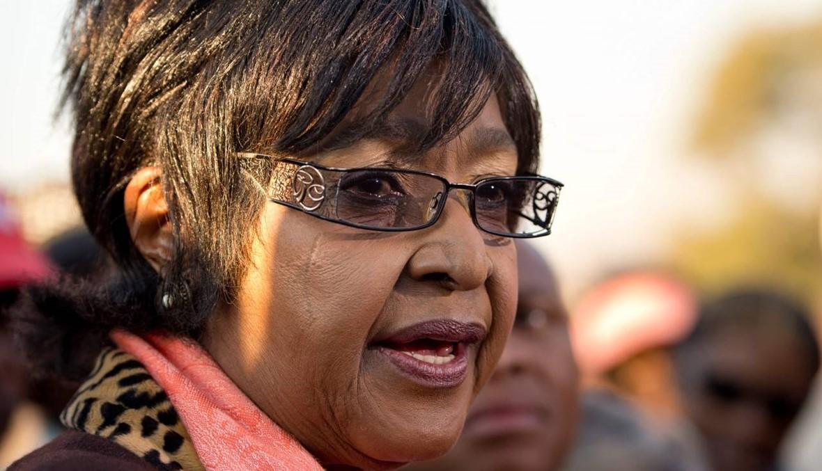 """وفاة ويني، الزوجة السابقة لنسلون مانديلا، و""""أيقونة النّضال"""" المثيرة للجدل"""