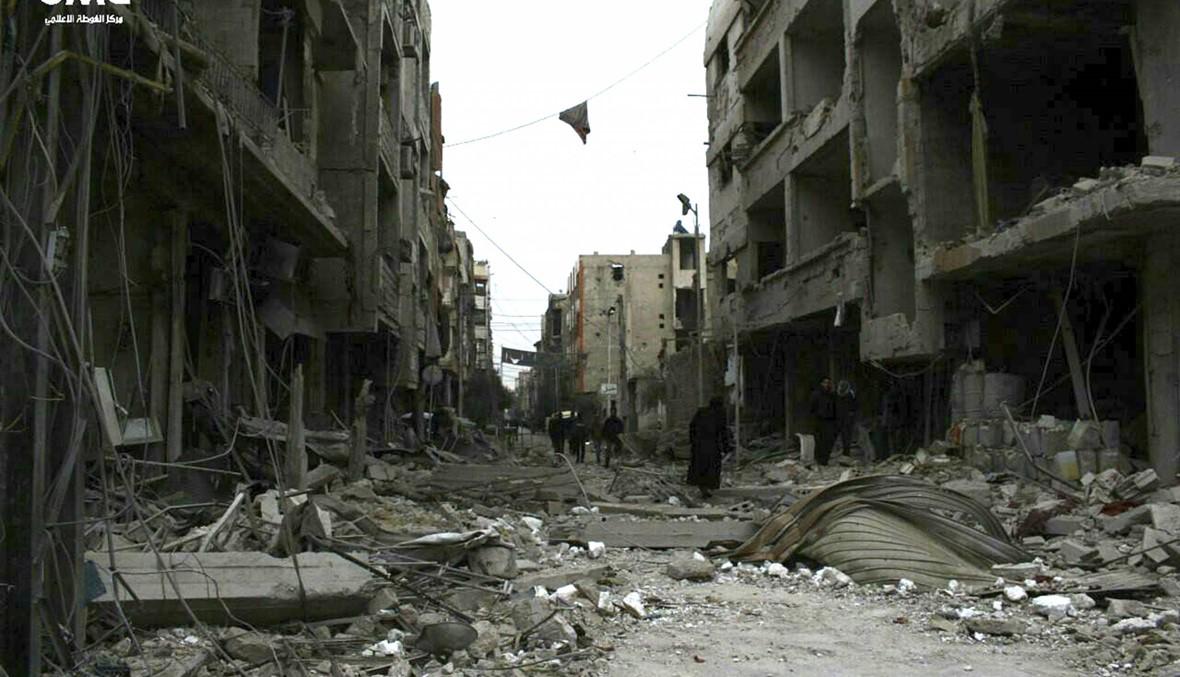 الجيش السوري يعلن استعادة الغوطة الشرقية بالكامل
