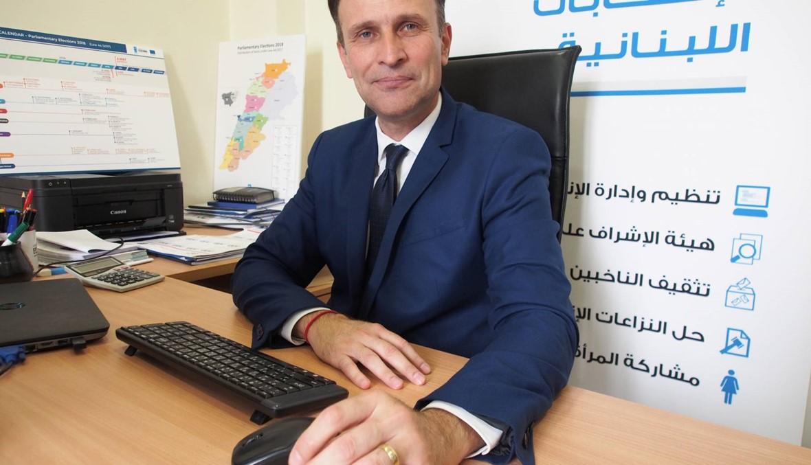 """""""مشروع دعم الانتخابات اللبنانيّة"""" التابع للـUNDP رادوليسكو لـ""""النهار"""": مستعدّون ليوم الامتحان"""