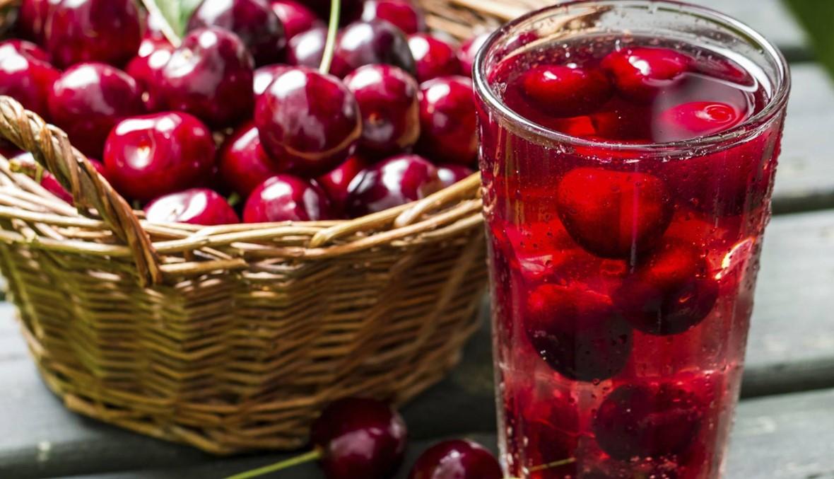 عصير الكرز يخفّض ضغط الدم ويحمي من الجلطات