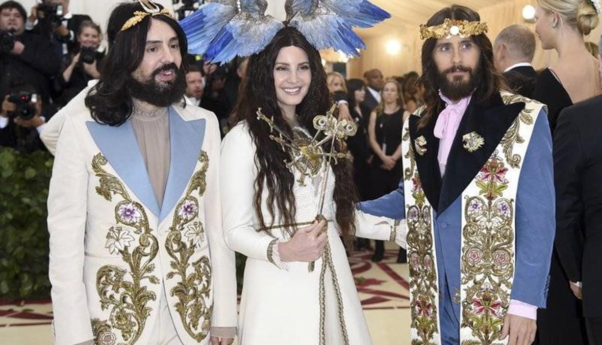 Holy haute couture: Divine designs grace carpet at Met Gala