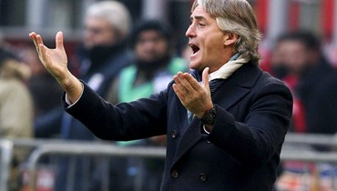 """مانشيني يتولى مهمة """"انقاذ"""" المنتخب الإيطالي"""