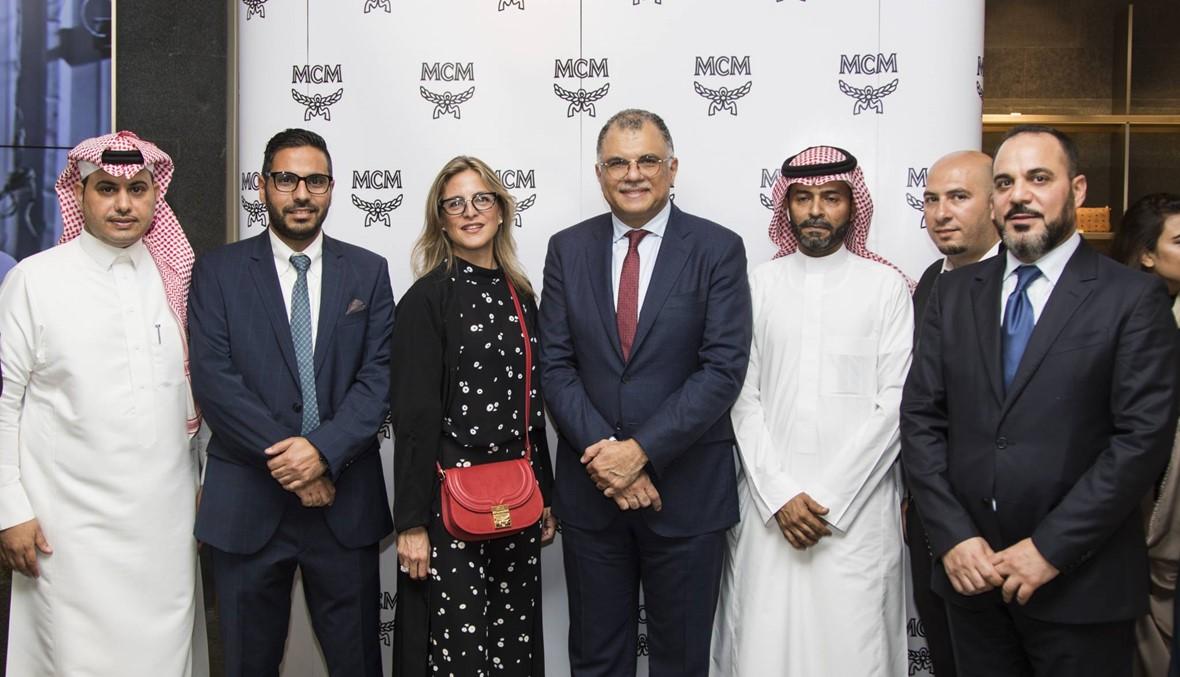 افتتاح متجر  MCM في المملكة العربية السعودية