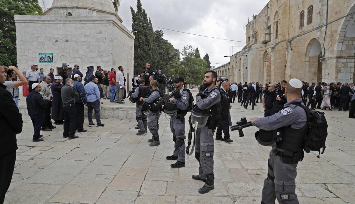 """مواجهات بين إسرائيليّين متشدّدين وحرّاس الأقصى: مسيرة """"يوم القدس"""" """"استفزازيّة"""""""