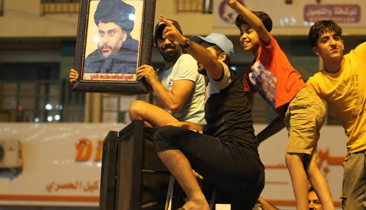 """العراق: مقتدى الصدر """"متقدّم"""" في نتائج الانتخابات... كتلة العامري تحتل المركز الثاني"""