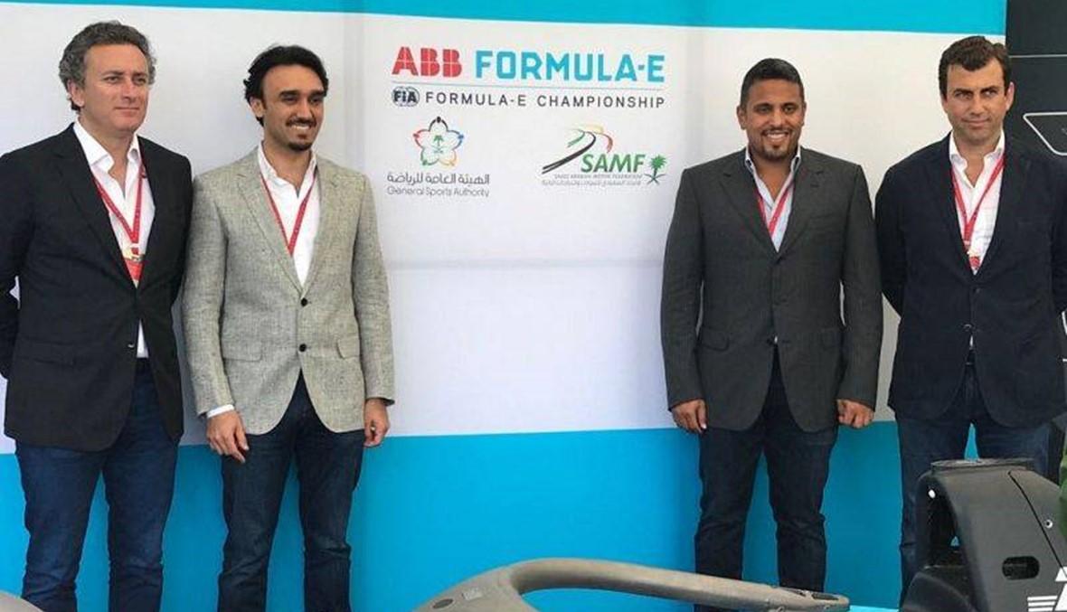 """الدرعية تستضيف الجولة الأولى من سباق """"فورمولا إي"""""""