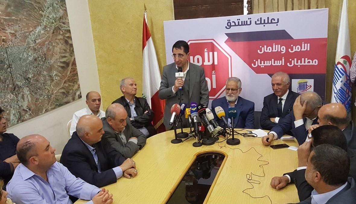 اجتماع في بلدية بعلبك تزامناً مع اجتماع المجلس الأعلى للدفاع في بعبدا