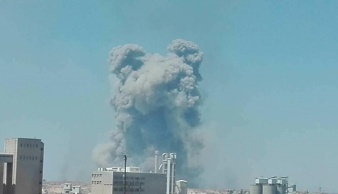 انفجارات مطار حماه: حصيلة القتلى ترتفع إلى 28
