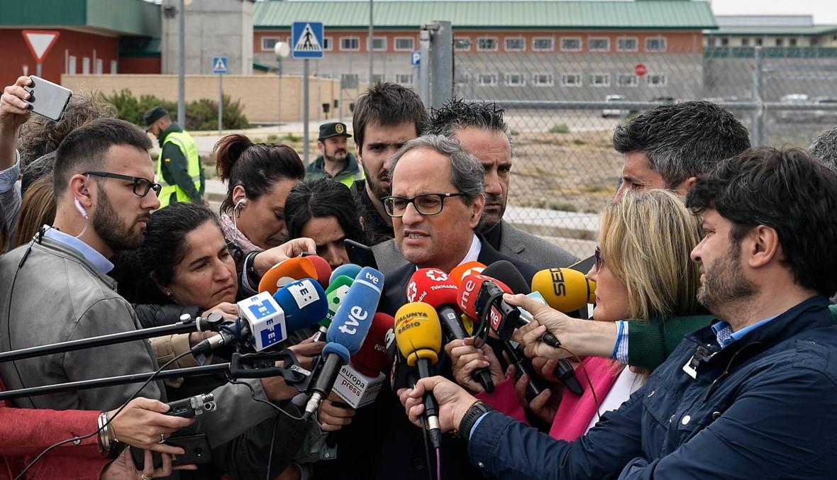 """مدريد دعت رئيس كاتالونيا إلى تشكيل """"حكومة قابلة للاستمرار"""""""