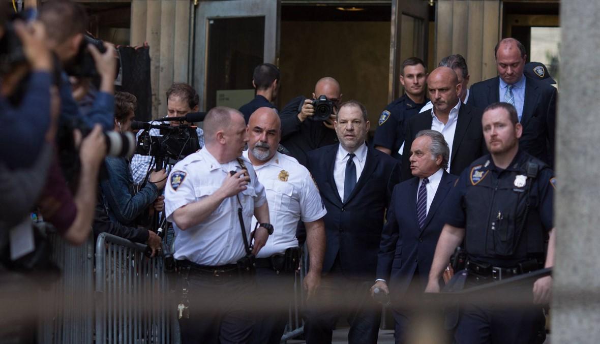 """هارفي واينستين المتّهم بالاغتصاب يمثل أمام المحكمة: """"أنا غير مذنب"""""""