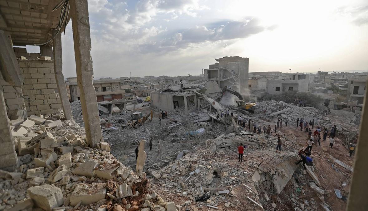 سوريا: قوّات النّظام تنفّذ غارات على إدلب... مقتل 11 مدنيًّا