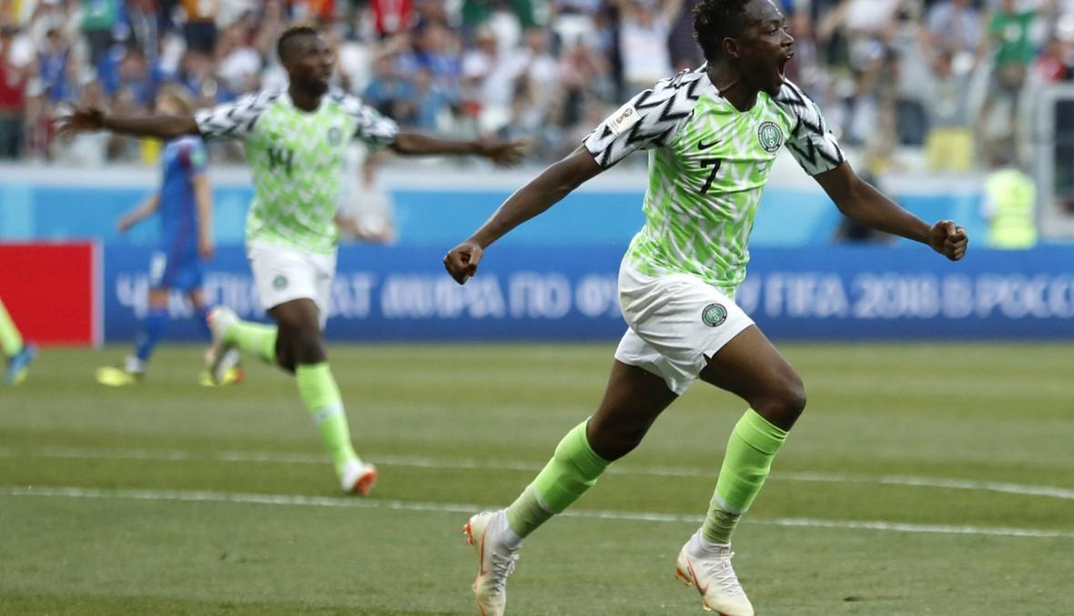 نيجيريا تحيي آمال الأرجنتين