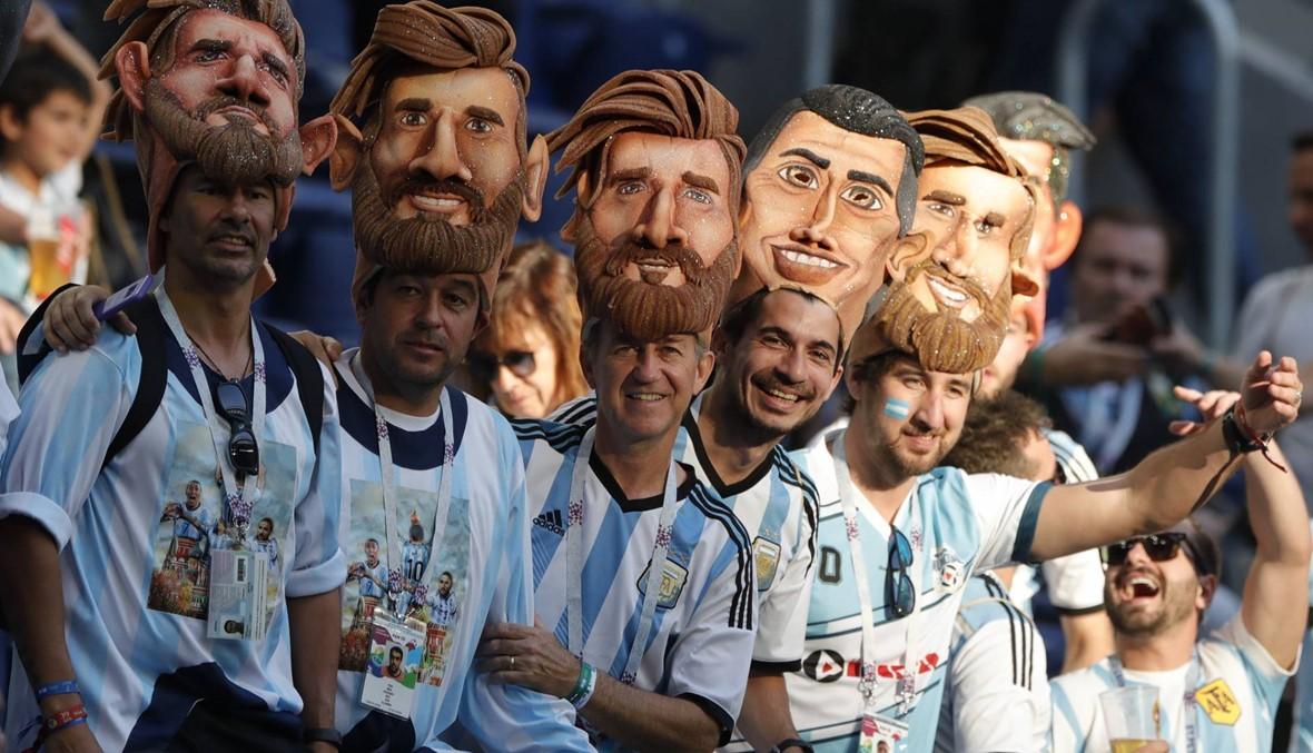 التغطية المباشرة لمباراة الأرجنتين ونيجيريا