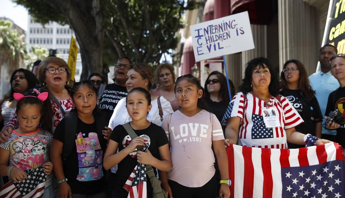قاضية أميركية تأمر بلمّ شمل عائلات المهاجرين التي تم تفريقها