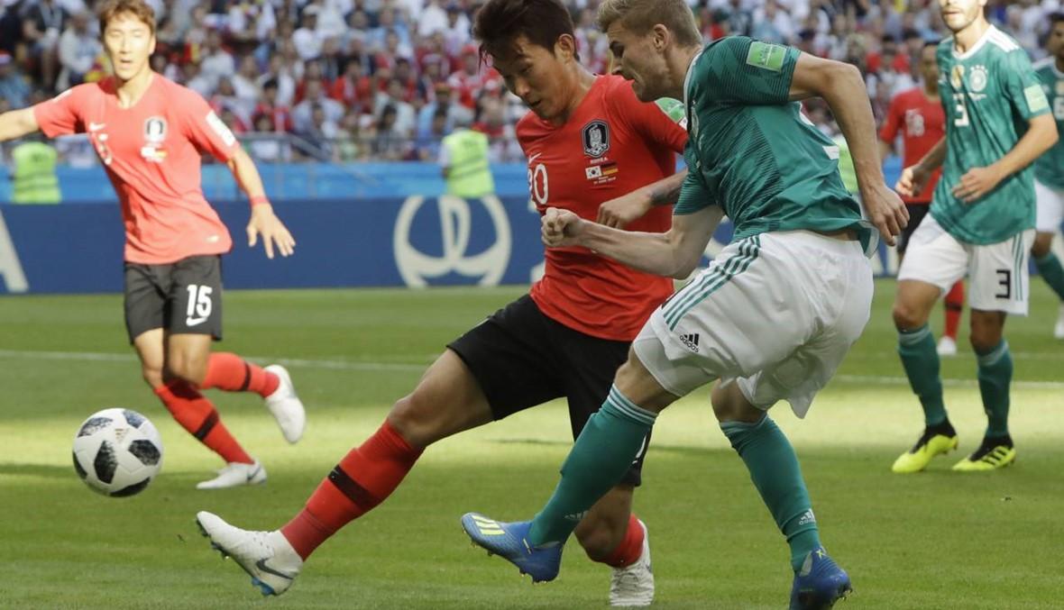 شوط مثالي لكوريا أمام ألمانيا... والسويد تهدر فرصاً بالجملة