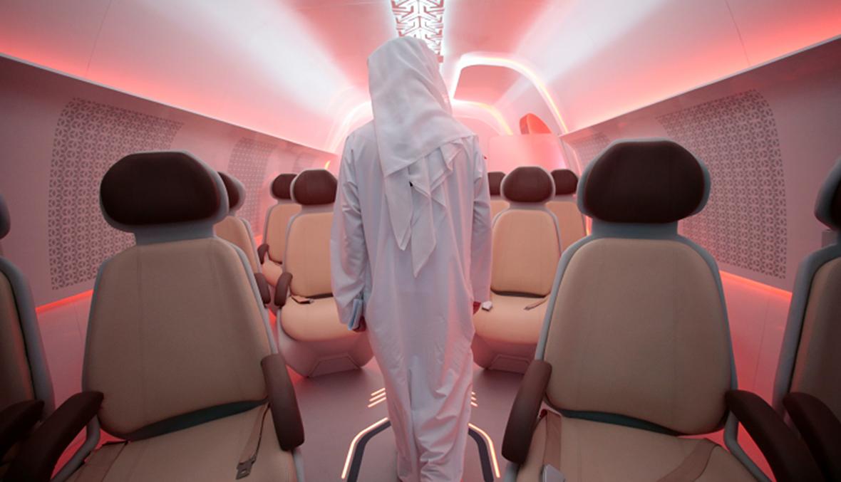 """بالفيديو: اللقطات الأولى لـ""""هايبرلوب"""" الإمارات"""