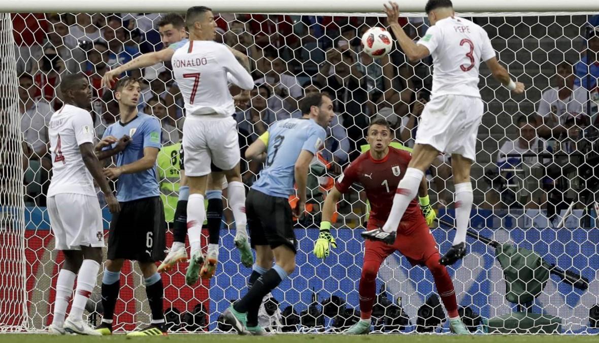 رونالدو يرافق ميسي ويخرج من المونديال... أوروغواي إلى ربع النهائي