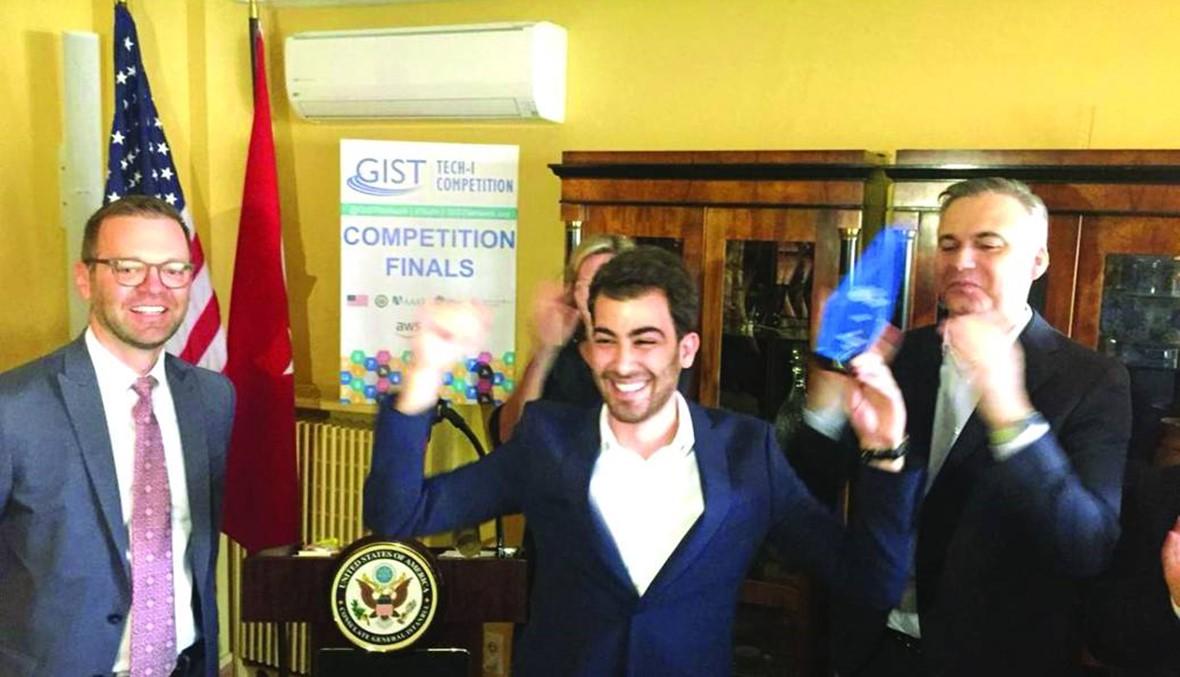 المركز الأول لجامعة الحريري في المسابقة العالمية لابتكارات العلوم والتكنولوجيا
