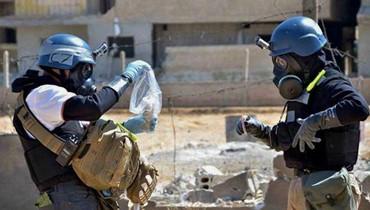 منظمة حظر الاسلحة الكيميائية: لم نعثر على آثار غاز اعصاب في دوما