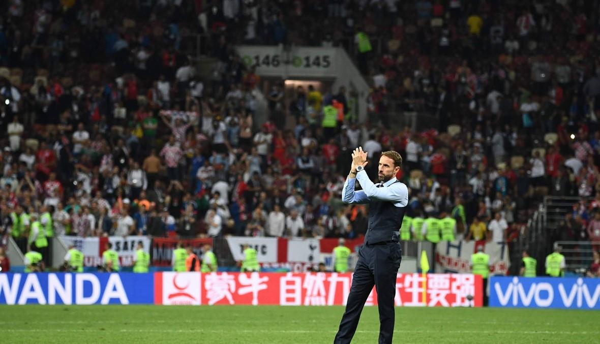ساوثغيت يواسي نفسه بعد الخسارة أمام كرواتيا