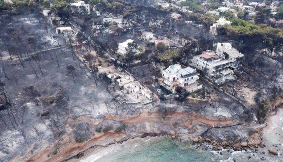 """20 صورة لحرائق """"يوم القيامة"""" في اليونان.. وكأنها جحيم!"""