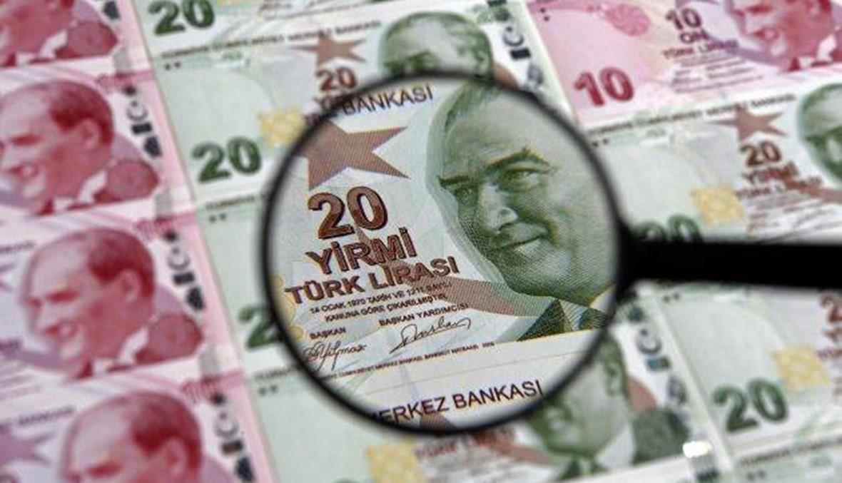 الليرة التركية قرب 5 ليرات للدولار بعد إعلان عقوبات أميركية