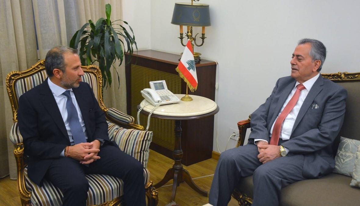 السفير السوري زار باسيل: الحكومتان تتكاملان بتوجيه من القيادتين