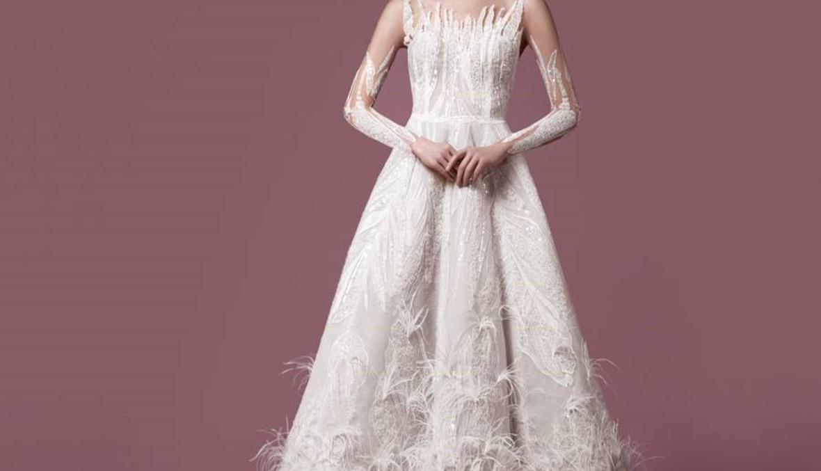 اكتشفي احدث تصاميم الزفاف مع المصممة ZENA KASH