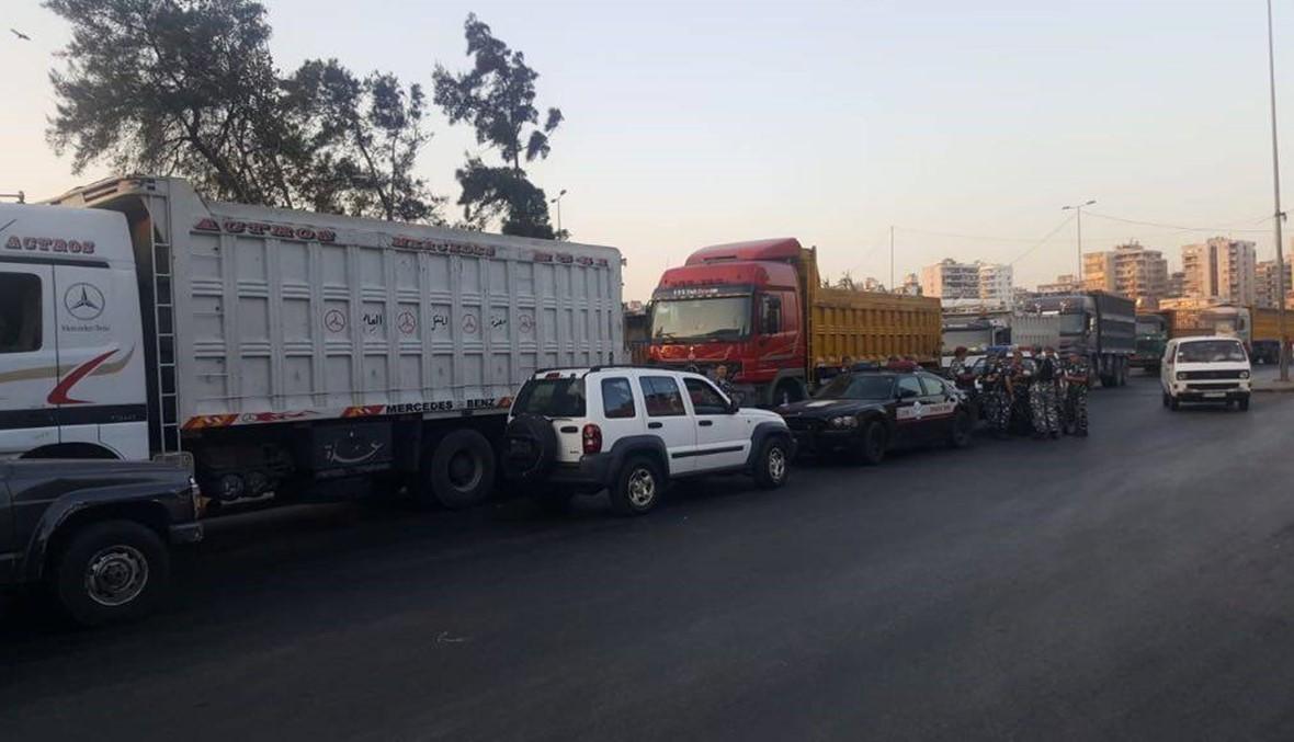 اتحاد نقابات النقل البري أعلن الاستمرار بالتحرك