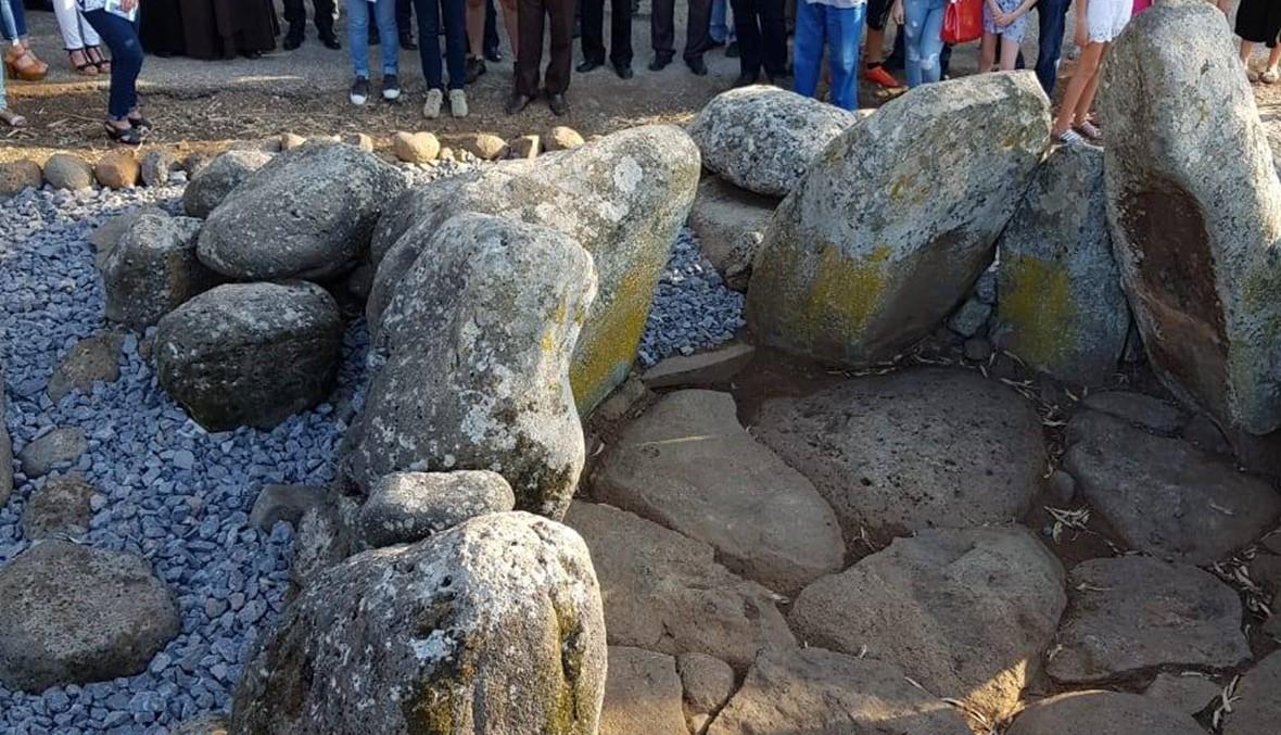 في منجز... قبور ميغاليتية تعود لاكثر من 6000 سنة