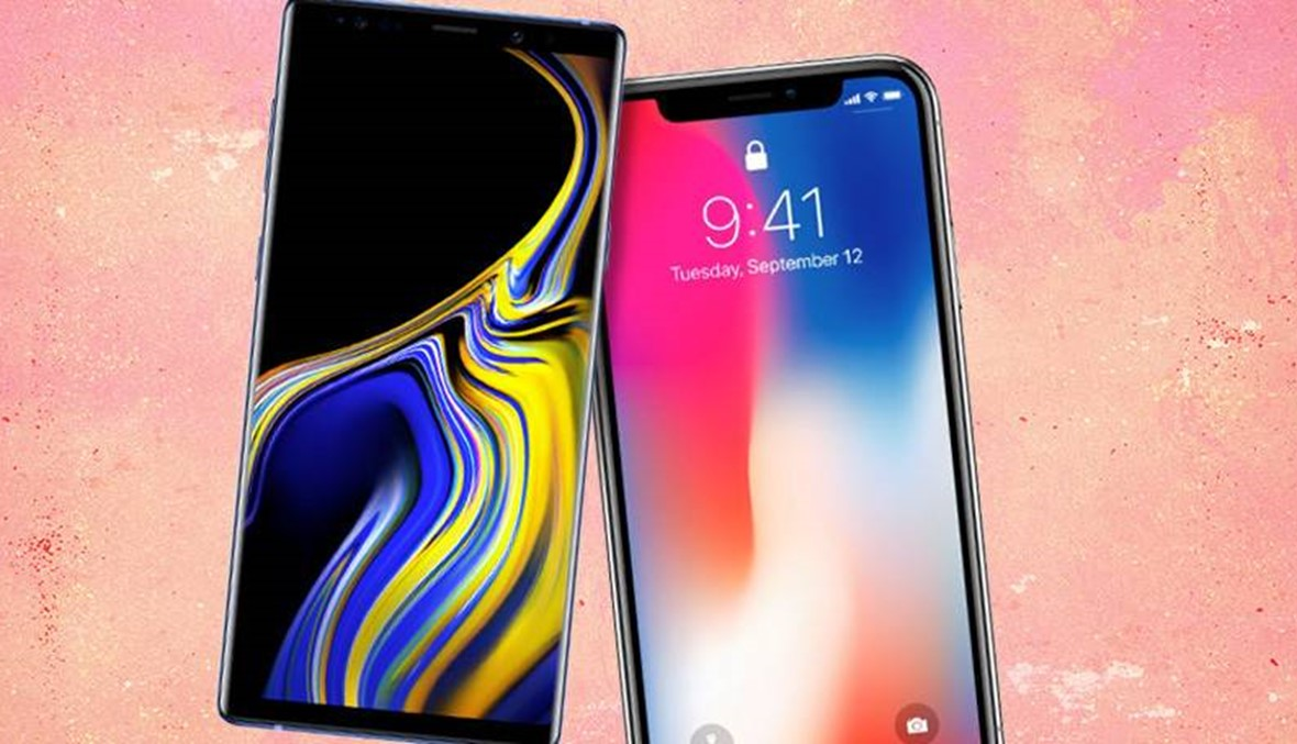 بين iPhone X وهاتف سامسونغ الجديد Note 9: أيهما الأقوى