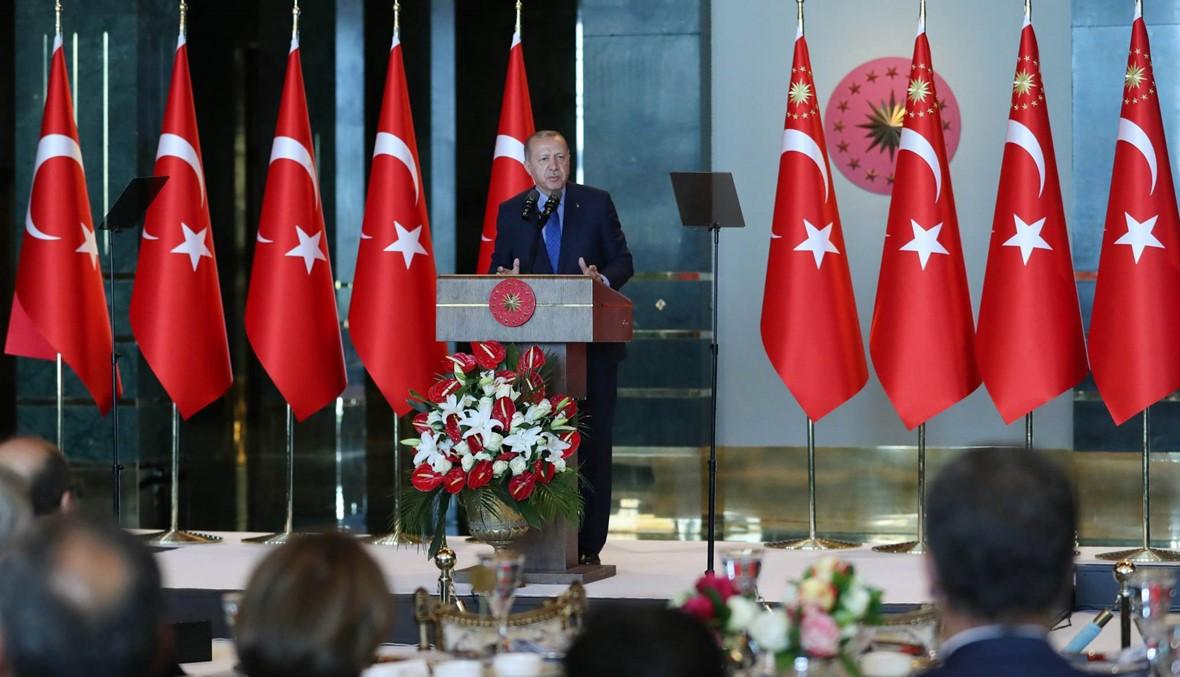 """إردوغان يتّهم واشنطن بـ""""محاولة طعن"""" تركيا """"في الظهر"""""""