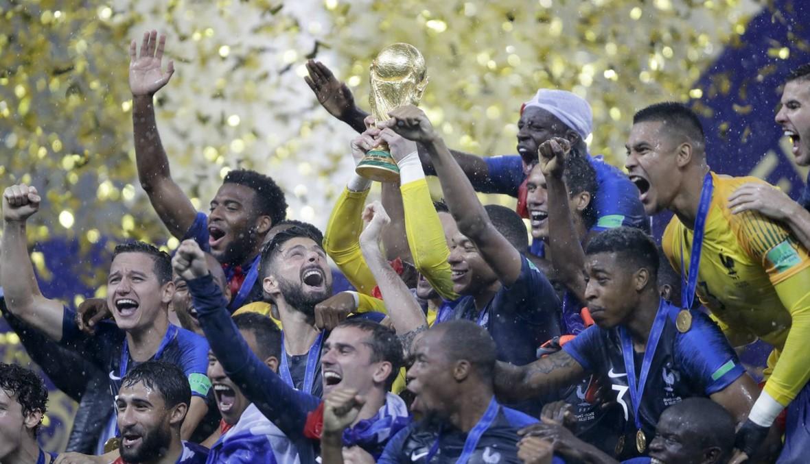 فرنسا تتزعم التصنيف العالمي... وتراجع كبير لألمانيا