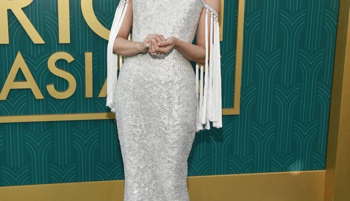 ارتدت ٩٠ قيراطا من الماس على فستانها...من هي؟